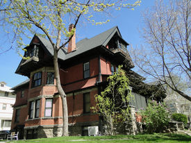 picture of boise  - This Queen Anne style mansion was constructed during 1899 in Boise, Idaho. The landmark building was home to one of the state