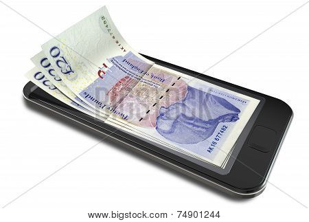 Smartphone Payments With Pounds
