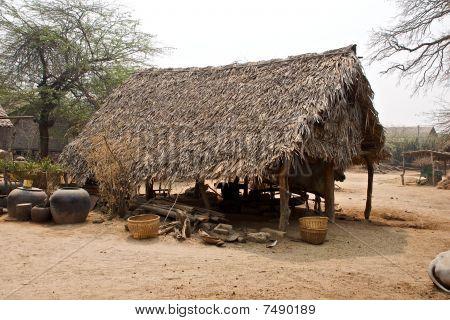 Burmese village