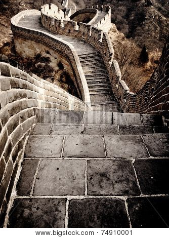 Great Wall of China Travel Chinese Culture Concept
