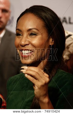 NEW YORK-OCT 18: Actress Jada Pinkett Smith attends the 2nd Annual Paleyfest New York Presents: 'Gotham' at Paley Center for Media on October 18, 2014 in New York City.