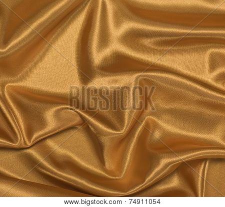 Gold Satin Background Horizontal