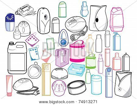 Various Symbol Of Goods