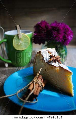 Cheese Cake And Tea