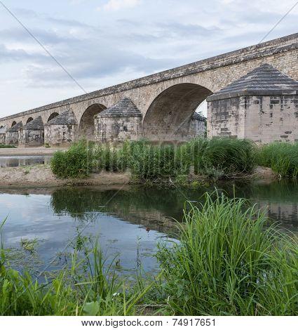 Roman Bridge in Pouilly