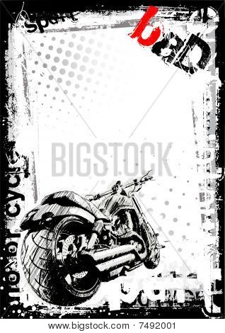 Dirty Motorbike background