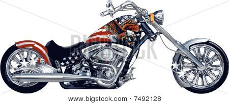 All American Chopper Bike