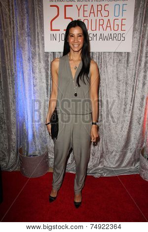 LOS ANGELES - OCT 28:  Lisa Ling at the 25th Courage In Journalism Awards at the Beverly Hilton Hotel on October 28, 2014 in Beverly Hills, CA