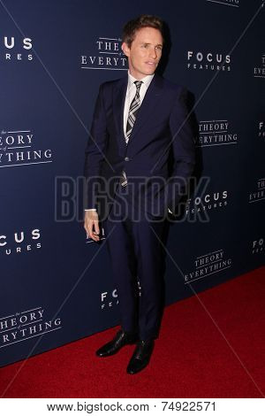 LOS ANGELES - OCT 24:  Eddie Redmayne at the