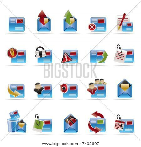 Mail Vector and Letter