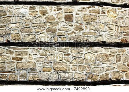 Antique White Decorativ Stone Wall