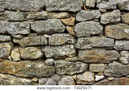 Old Stonework Wall
