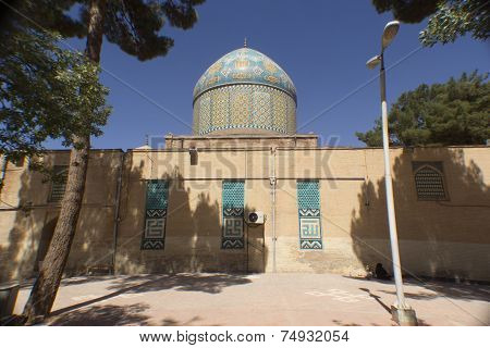 Mausoleum of Mohammed burned