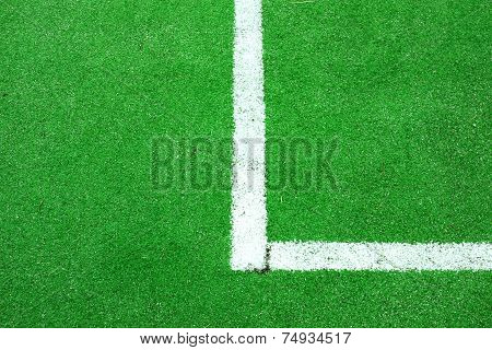 Synthetic Soccer Or Footbal Field