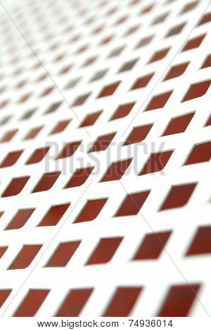 Mesh Surface Of Sun Bed