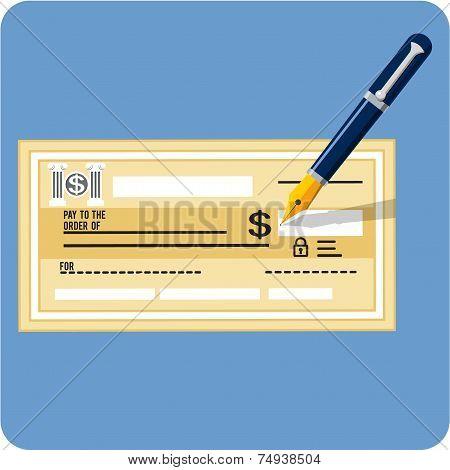 Vector Check and Pen