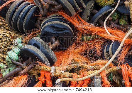 Several Fishing Nets
