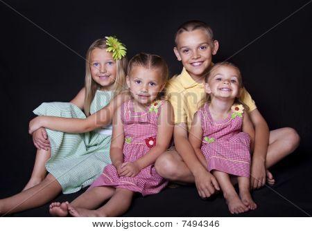 Beautiful Smiling children
