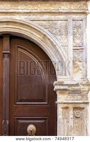 Door in Rethymno on Crete