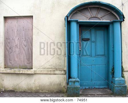 Old Georgian Door
