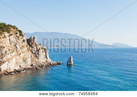 View Of Parus (sail) Rock, Ayu-dag Coast, Crimea