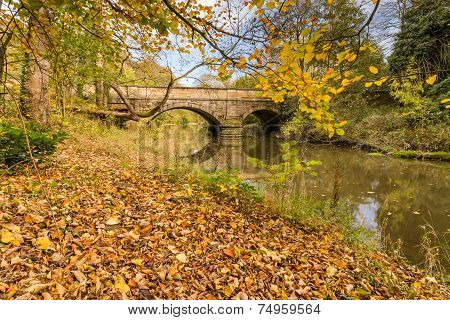 Hartford Bridge In Autumn