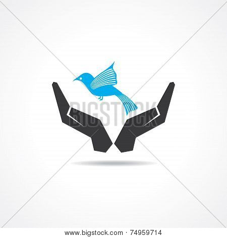 save wildlife concept stock vector