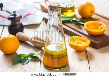 Orange Salad Dressing With Poppy Seed