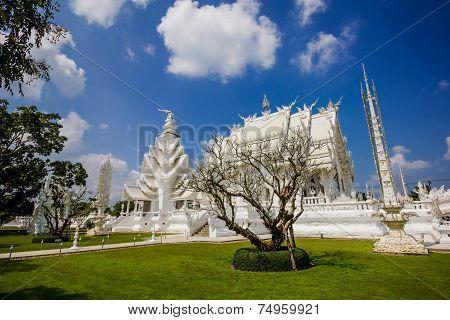 Thailand Temple - Wat Rong Khun Of Chiangrai Thailand