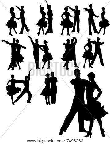 Couple Dancing Set