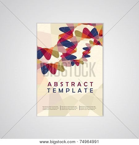 Abstract Background Business Poster Template