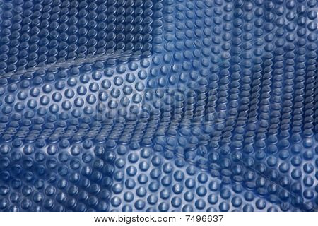 Abstract Blue Bubblewrap