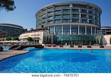 Summer View Of  Luxury Resort Hotel