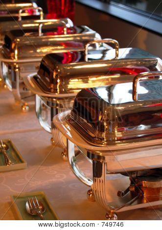 bandejas buffet