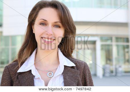 Pretty Russian Business Woman