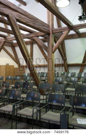 Sala de ensayo de coro