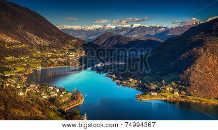 Endine Lake Italy