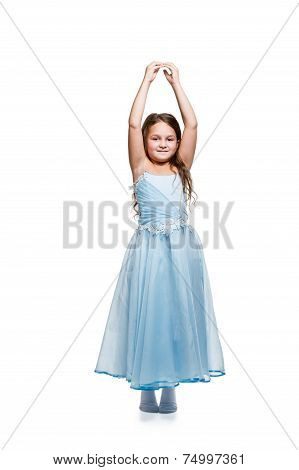 Girl In A Dress Dances