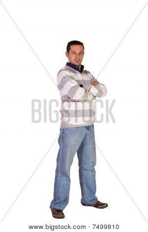 Casual Man Posing