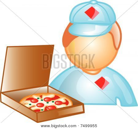 Pizza Delivery Icon