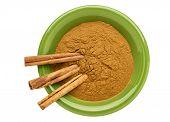 stock photo of cassia  - cinnamon   - JPG