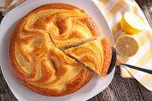 picture of pound cake  - lemon cake - JPG