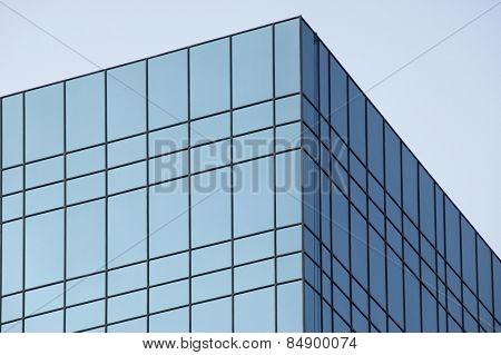 Top part of an office building, Gurgaon, Haryana, India