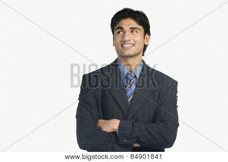 Portrait of a young businessman