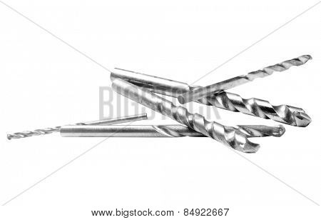 Close-up of drill bits