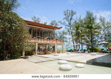 Phuket, Thailand - August 05, 2013: Sandbox At Renaissance Resort