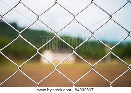 close up pattern Barb Wire