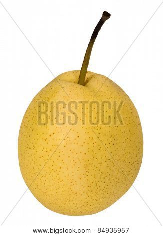 Close-up of a pear
