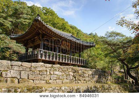 Mungyeong, Korea - October 14, 2014: Gyogwijeong In Mungyeongsaejae
