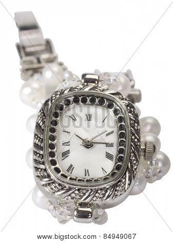 Close-up of wristwatch